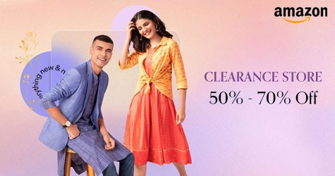 Amazon Clearance Store : Upto 50% - 70% Off