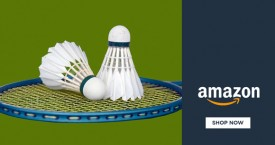 Amazon Badminton Store : Upto 75% Off on Complete Sets, Equipment Bags, Footwear, Nets, Racquets, Racquet G
