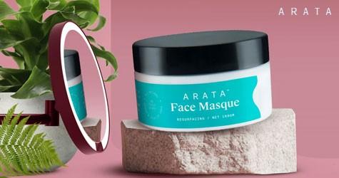 Arata Amazing Deal : Upto 25% Off on Face Care