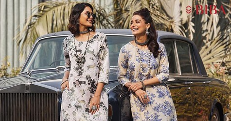 Biba Great Deals : Upto 50% OFF on Chic Stance