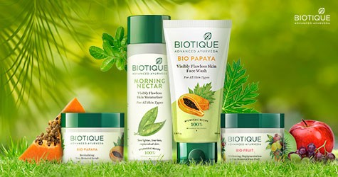 Biotique Mega Deal : Skin Care Starting From Rs. 65
