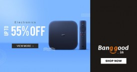 Banggood Mega Offer : Upto 55% Off on Home Audio & Video