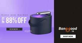 Banggood Special Deal : Upto 80% Off  Home and Garden