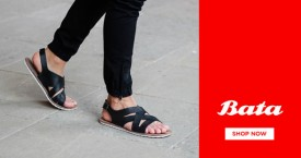 Bata Special Deal : Men's Sandals Starting From Rs. 499