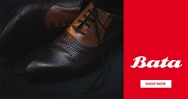 Bata Flat 20% Off on Men Formal Shoes on Min. Purchase of Rs. 999 & above