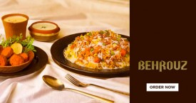 Behrouzbiryani Special Deal : Shahi Subz Dastarkhwan Biriyani Combos Rs. 390