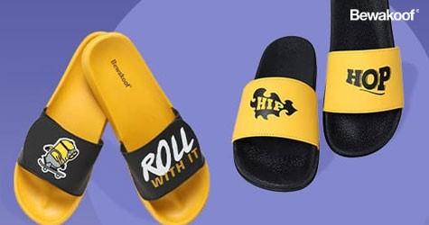 Bewakoof Best Deal : Flip Flops & Sliders Starts at Rs. 329