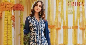 Biba Special Offer : Upto 50% OFF on Straight Suit Set