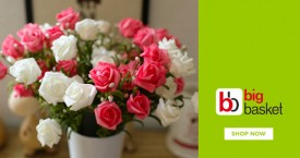 Bigbasket Best Deal : Upto 20% Off on Flower Bouquets, Bunches