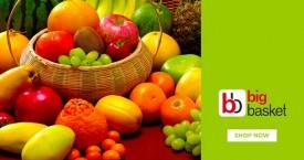 Bigbasket Mega Offer : Upto 40% Off on Fresh Fruits