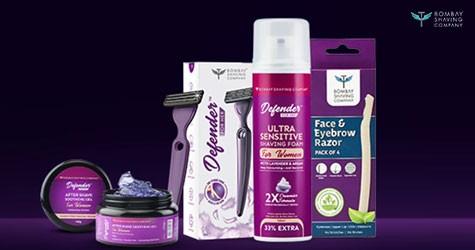 Bombayshavingcompany Best Offer : Upto 35% Off on Women's Shaving, Grooming & Personal Care