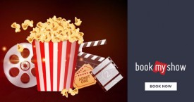 Bookmyshow Flat Rs. 75 off on Movie Tickets