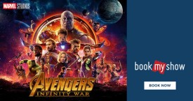 Bookmyshow Book Avengers Ticket & Get Cashback Upto Rs. 100/-