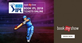 Bookmyshow IPL Tickets: Buy T20 Premier League 2018 Tickets Starting At Rs. 800/-