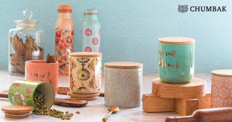 Chumbak Best Price : Upto 40% OFF on Storage & Containers