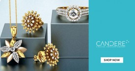 Candere Get 35% Off on Diamond Jewellery.
