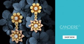 Candere Sale on Floral Jewellery.