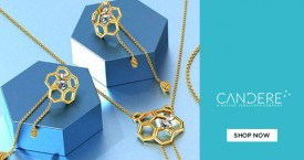 Candere Get 15% Off on Gold Jewellery.