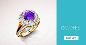Candere Most Affordable Solitaire Rings.