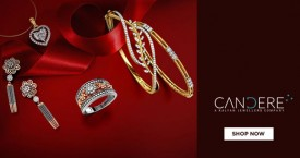 Candere 15% Off on Gold & Diamond Jewellery.