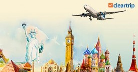 Cleartrip Upto Rs. 12000 Cashback on International Flight Bookings