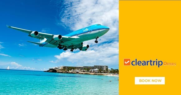 Upto Rs. 2,800 instant savings on Domestic Flights & Hotels with HSBC Credit Cards