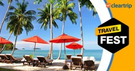 Cleartrip Travel Fest : 10% Instant Cashback on Domestic Hotels