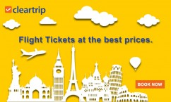 Cleartrip Cleartrip.com : Flight Tickets at the Best Prices. Book Now.