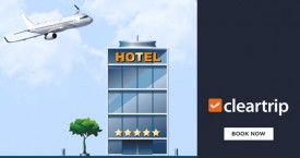 Cleartrip Grab 30% Instant Cashback on Domestic Hotels !