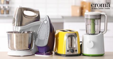 Croma Mega Deal : Upto 65% OFF on Home Kitchen Appliances