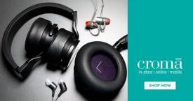 Croma Hot Deal : Headphones & Earphones Upto 60% Off