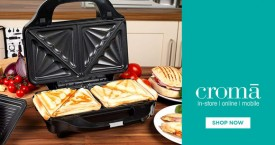 Croma Best Deal : Toasters Sandwich Makers From Rs. 749