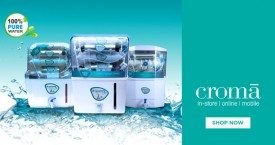Croma Hot Deal : Upto 40% Off on Water Purifiers Dispensers