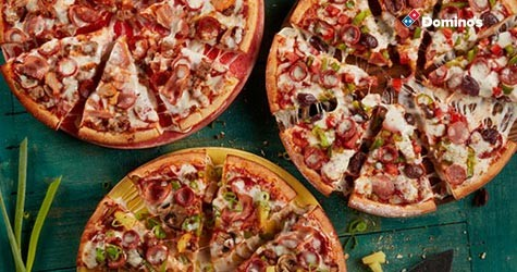 Great Deal : Medium Pizzas Starting at Rs. 199