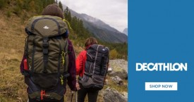 Decathlon Backpacks Offers: Rs. 199 Trekking, Football & All Backpacks