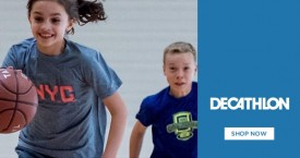 Decathlon Tshirts Deals: Kids Tshirts Starting From Rs. 99 for Athletics, Tennis etc.