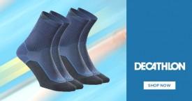 Decathlon Best Deals : Men's Sports Socks from Rs. 149