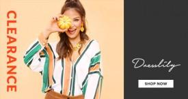 Dresslily Dresslily Clearance Sale : Buy Any 1 And Get 10% OFF | Buy 2 And Get 15% OFF | Buy 3 And Get 20% OFF