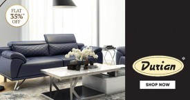 Durian Great Offer : Flat 35% Off on Comfy Sofa