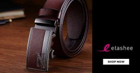 Etashee Best Deal : Men's Belts Starts From Rs. 379