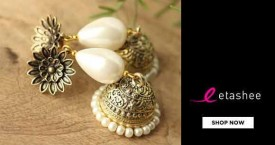Etashee Special Deal : Upto 70% OFF on Earrings