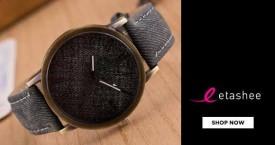 Etashee Etashee Offer : Men's Watches Starts At Rs. 435