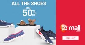 Ezmall Hot Deal : Get Minimum 50% OFF on Footwear