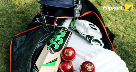 Flipkart Special Offer : Upto 70% Off on Cricket Bat, Balls, Gloves, Kits etc.