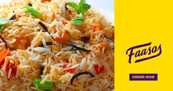 Great Offer : Faasos Biriyani Starting from Rs. 220