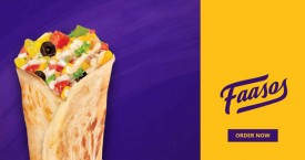 Faasos Get 100% Cashback Upto Rs. 150 on First Order.