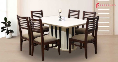 Fabrento Mega Deal : Dining Table Starting From Rs. 1299/mo