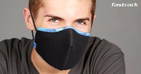 Fastrack Great Deal : Upto 30% OFF on Face Mask