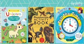 Firstcry Amazing Offer : Activity Books for Kids Upto 15% OFF