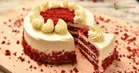 Floweraura Hot Deal : Velvet Cakes Starting From Rs. 799